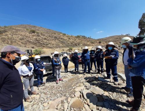 CONSTRUCCIÓN DE PRESA Y SISTEMA DE RIEGO VALLES DE TARABUCO MIC-CHUQUISACA INSPECCIÓN  DE CONTROL Y SEGUIMIENTO