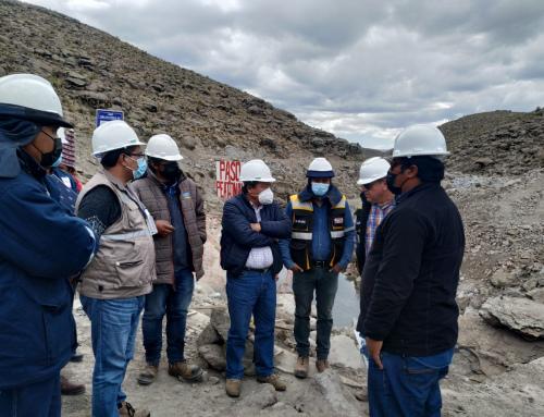 LA VISITA CONSTRUCCIÓN SISTEMA DE RIEGO CABILDO HILCHACO (TINGUIPAYA)